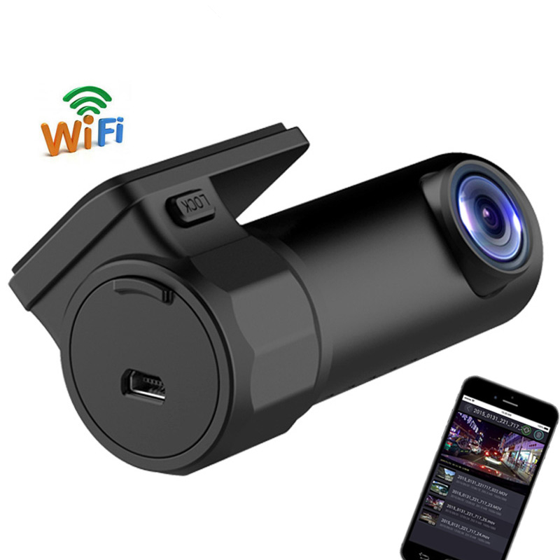 Mini WIFI Car DVR HD1080P Camera Digital Registrar Video Recorder DashCam Road Camcorder APP Monitor Night Vision Wireless DVR(China (Mainland))