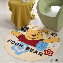Cartoon Bear Round Mat 60/80/100/120/160CM alfombras dormitorio Carpet Living Room Deurmat rugs Swivel chair Mats tapis chambre