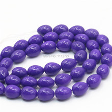 7x9mm Accessories Imitation Pearl Purple Glass Beads Wholesale Diy Loose Beads For Women Girls Gifts Jewelry Making Wholesale