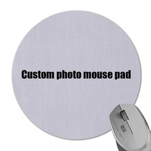 Special Offer DIY Custom Any Image Mousepad Durable Soft Rubber Gaming Mice Mat Desk Optical Mousemat Circular Diameter 200MM