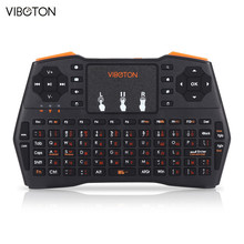 Russian / English /Herbrew Multilanguage i8 Plus 2.4GHz Wireless Mini Keyboard for PC Laptop Tablet Windows Mac OS Linux Android