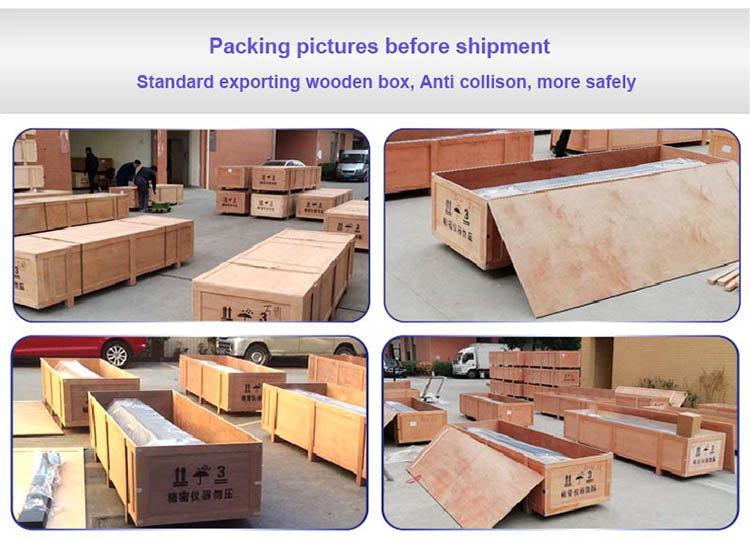 wooden package -