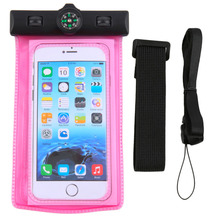 Hot Selling Compass Waterproof Transparent PVC Pouch Dry Bag Case Surf bag For iPhone 6 4.7''