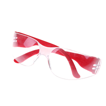 1PCS high quality Anti-explosion Dust-proof Protective Glasses for Children Kids Outdoor Activities Safety Goggles - Red(China)