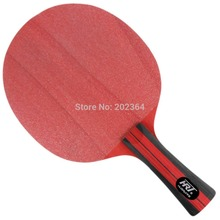 HRT Red Crystal Carbon Table Tennis Blade for PingPong Racket  5 Wooden plus 2 Crystal Carbon Attack plus Loop