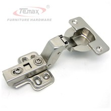 2pcs 40mm Cup Soft close Insert Hydraulic satin nickel kitchen cabinet furniture hardware hinges