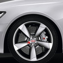 4pcs 56.5mm Car Steering Tire Wheel Center Car Sticker Hub Cap Emblem Badge Decals Symbol Apply to Audi Mercedes Porsche