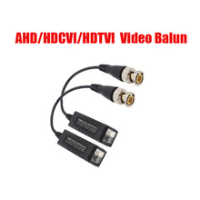 10Pairs High Definition 720P/1080P AHD/HDCVI/HDTVI BNC to UTP Cat5/5e/6 Video Balun Passive Transceivers Transmitter 300m(China)