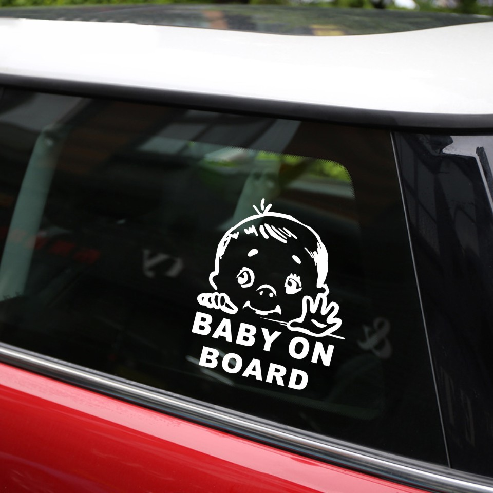 Cunymagos Lovely Child BABY ON BOARD Safety Sign Car Stickers And Decal Vinyl Car Styling Auto Motorcycle Stickers 13.115 (7)