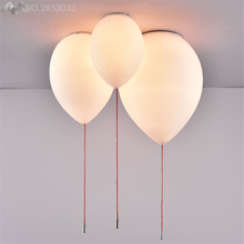 LFH Creative Balloon Ceiling Lights Modern Simplicity Nordic Style Home Restaurant Living Room Light Children Bedroom Lamp