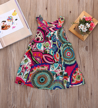 New Flower Girl Summer Princess Dress Kids Baby Cute Party Pageant Floral Dresses Clothes