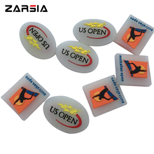 Free shipping(50pcs/lot)US OPEN /AUS Tennis vibration dampeners/tennis racket/tennis racquet(China)