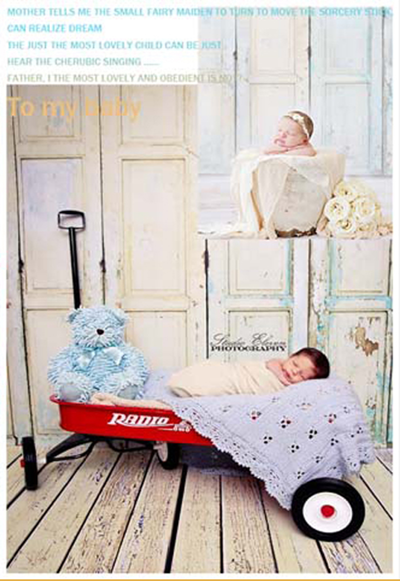 photography backdrops 200cm*300cm light blue door newborn  photo props photographic studio background white floor baby photos<br><br>Aliexpress