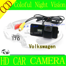 CCD Sensor Car Rear View Reverse Parking CAMERA for Beetle Passat PHAETON SCIROCCO POLO Golf Seat Leon Altea Skoda superb(China)