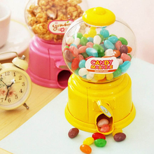 Super Lovely Funny Mini Candy Machine Dispenser Bubble Gumball Saving Coin Box Bank Popular