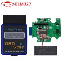 ELM327 V1.5 with PIC18F25K80 Chip Bluetooth OBD2 Scanner VGATE OBDII Scan Tool CAN-BUS Works ON Android Torque/PC(China)
