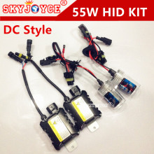 Freeshipping 55W hid xenon kit Slim Ballast xenon 55W H27 H1 H3 H7r H10 9006 H13-1 9004 H4-1 3000K yellow green blue purple pink