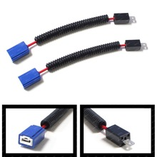 KAMMURI H1 Ceramic Wire Wiring Harness Sockets Adapters For Headlights or Fog Lamps Use(China)