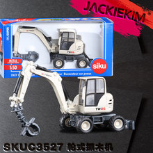 High simulation siku Engineering vehicles,1:50 scale alloy TEREX wheeled wooden car,High quality models,gift toy,free shipping