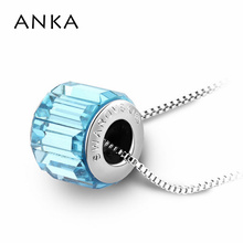 original crystal bead necklace DIY charm pendants 3 color available fashion necklaces for women Crystals from Swarovski #105687