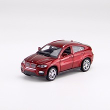 X6 (E71) Diecast Alloy Toy Car 1:32 Model Pull Back Car Metal Car Vehicle Model Toys(China)