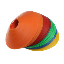 2017 10PCS Disc Cones Soccer Football Field Marking Coaching Training Agility Youthful Own Store(China)