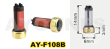 OEM MD619962 hot sale 20 pieces high quality 14*6*3mm fuel injector micro filter for japan cars (AY-F108B)(China)