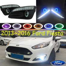 Fiest fog light LED,2013~2016;Free ship!Fiest daytime light,2ps/set+wire ON/OFF:Halogen/HID XENON+Ballast,Fiest