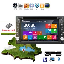 2 din car dvd HD Digital TV DVB-t ISDB-t (optional) Car CD Navigation GPS Player Stereo USB In Dash Radio Media SD Map PC