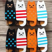 4PCS/lot New lovely cat Wooden Clip Bag Paper Clip Special Gift Fashion wood pegs(China)