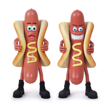 Hot Dog Man Badly Ver. Action Figure Bad Hot Dog Man Doll PVC figure Garage Kit Toy Brinquedos Anime 30CM(China)