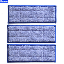 New 3pcs Microfiber Fabric Replacement Triple-pass Washable wet sweeping Pad mopping pads for iRobot Braava Jet 240 Free Post