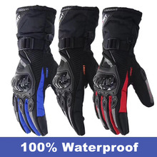 2017 New brand Suomy Touch Screen 100% waterproof motorcycle gloves guantes moto invierno motorbike gloves luvas keep warm(China)
