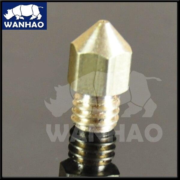 Wanhao 3D printer parts MK10+ printer nozzle 0.4mm<br><br>Aliexpress