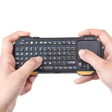 Bluetooth Mini Keyboard Remote 10m Control Touchpad For Android/Windows/IOS Standard QWER Keyboard(China)