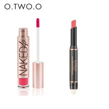 O.TWO.O Best Sale Air Cushion lip Gross 12 Colors Long-lasting Lip Stick Waterproof Matte Lipsticks Moisturize Make up