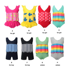2017 New Child Swimming Trunks Shorts Children's Swimwear Kids Buoyancy Swimsuit Baby Boy Girl Swim Vest for Safe Drifting(China)
