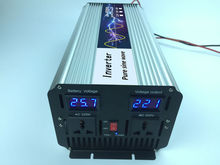 Solar Grid off Pure sine wave Inverter 3000W/3KW Surge Power 6000W/6KW DC12V/24V/48V to AC220V/230V/240V,50HZ Solar Converter(China)