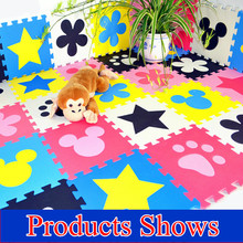 Promotion 10 pcs/ lot multicolor play mat child EVA puzzle floor mat baby eva foam patchwork game mats TYD001