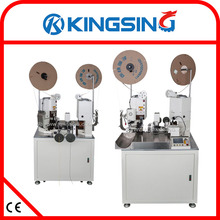 Full-auto Dual Wire Stripping and Crimping machine KS-T308 + Free shipping by DHL air express (door to door service)