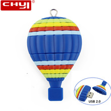 USB Flash Drive Pendrive Memory Cartoon Air Balloon Pen Drive 32GB 64GB 16GB 8GB 4GB USB 2. 0 Flash Drive USB Stick U Disk(China)