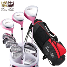 Brand Peter Allis .11 pieces Ladies golf clubs complete golf sets. Women golf clubs full set(China)