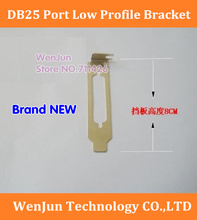 DIY Computer PCIe PCI-E DB25 port Low Profile Bracket LPT Parallel Port Bracket 8cm(China)