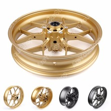 Areyourshop Front Rear Wheel Rim For Honda CBR600RR 2013-2014 for Honda CBR1000RR 2008-2014 1Pcs Gold Gray Motor Wheel Rim(China)