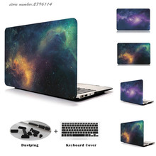 Night Sky Star Series Cover Case Black Hard Wholesale Price Macbook Air 13 11 Retina 12 Pro 13 15 Laptop Cases Mac book