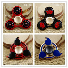 Naruto EDC handspinner Hand Spinner cube Creative Funny Toy Metal Spinner For Autism ADHD Anti Stress Kid Gift