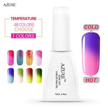Azure Beauty Гель УФ Лак Для Ногтей Гель Soak off Гель длительный Высокое Качество Горячей Продажи Новейших Изменение Температуры Гель лак для Ногтей