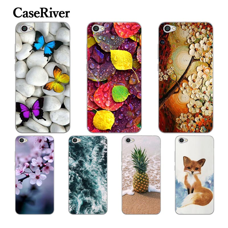 "CaseRiver Soft Silicone 5.5"" Xiaomi Redmi Note 5A Case Cover TPU Painted Phone Back Protective Xiaomi Redmi Note 5A Pro Case"