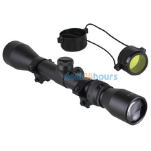 New Tactical Recon 3-9x40 Rifle Scope Telescope Sight Telescope Rail Mount 11mm Hunting