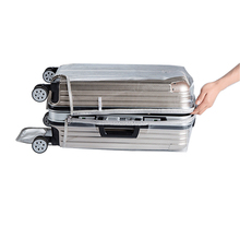 Transparent PVC Zipper Luggage Cover Thickened PVC Luggage Protective Covers Waterproof Dust Proof Travel Accessories